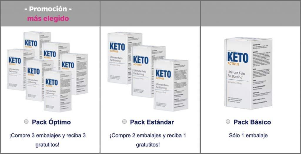 Promoción Keto Actives
